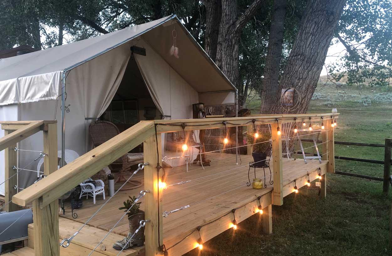best-tent-air-bnb-buffalo-wy