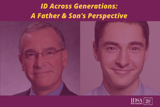 ID Across Generations: A Father & Son's Perspective