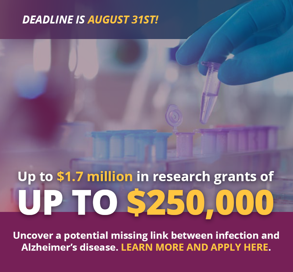 ALZ Apply for Grant Popup