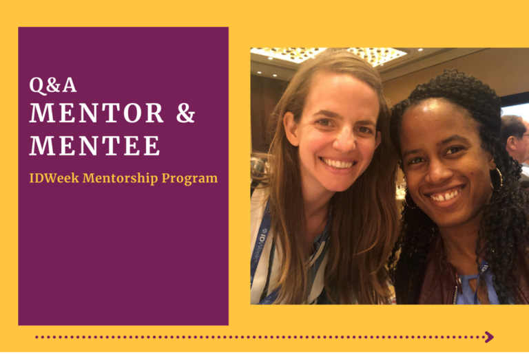 Mentor and mentee reflect on importance of relationships within the ID community