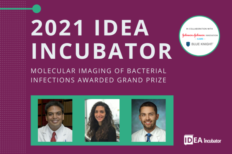 Molecular Imaging of Bacterial Infections Awarded Grand Prize at 2021 IDea Incubator Competition to Support Innovation for Improving Infectious Diseases Care