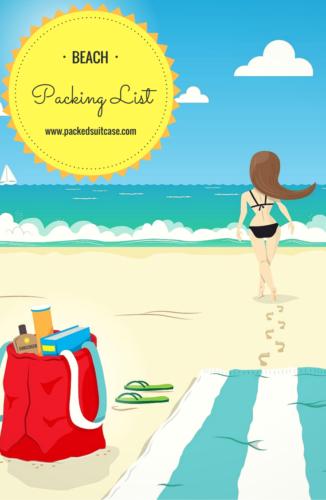 pin- Beach Packing List