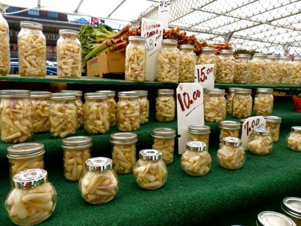 Wild Garlic in Ottawa's ByWard Market