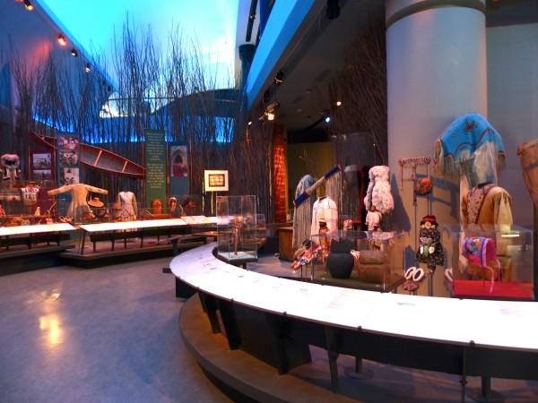 Civilization Museum- first people exhibit