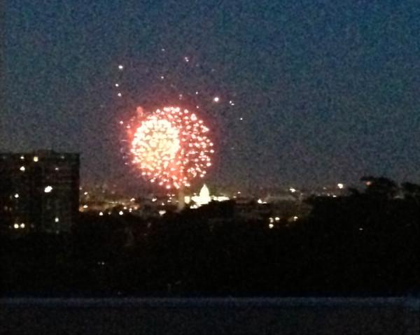 Thursday- Fireworks