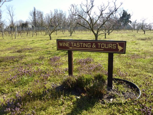 Perigeaux Winery- sign