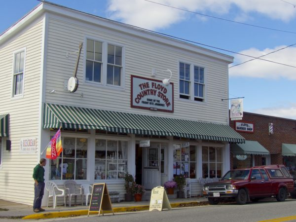 Floyd Country Store- exterior