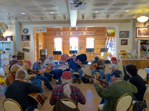 Floyd Country Store- music circle