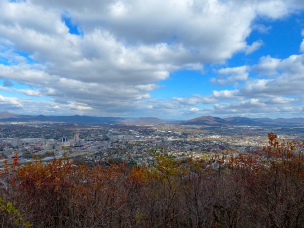 The view from the Roanoke Star
