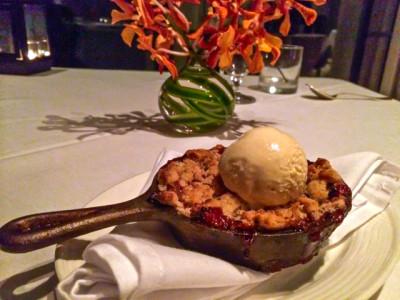 Keswick Hall - Fossett's Berry Dessert