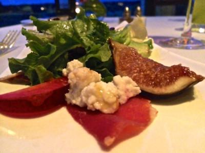 Keswick Hall - Fossett's - salad course