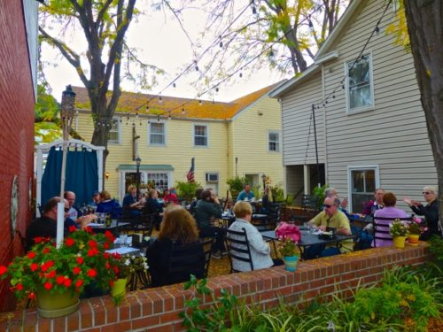 Day Trip to Occoquan- Cock and Bowl patio