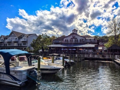 Day Trip to Occoquan- Madigan's from the water