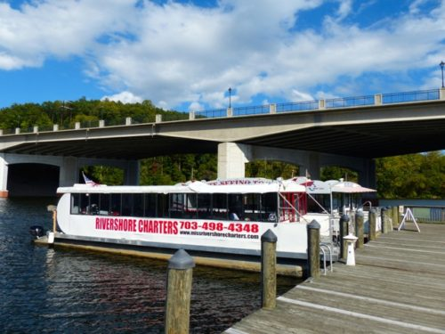 Day Trip to Occoquan- Rivershore Charters boat