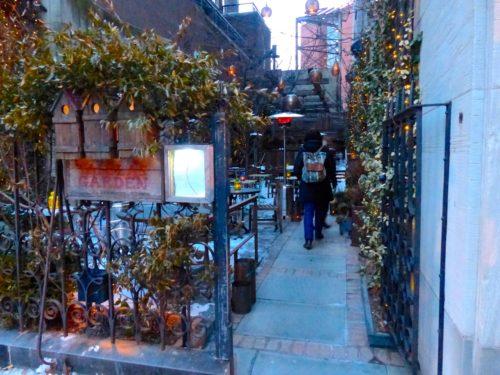 2 Days in Philadelphia - Talula's Garden- entrance