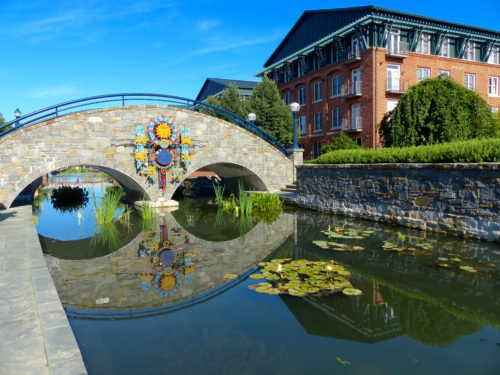 Frederick agritourism- Frederick: A downtown reflection