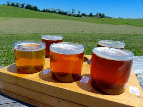 Frederick agritourism- Milkhouse Brewery at Stillpoint Farm