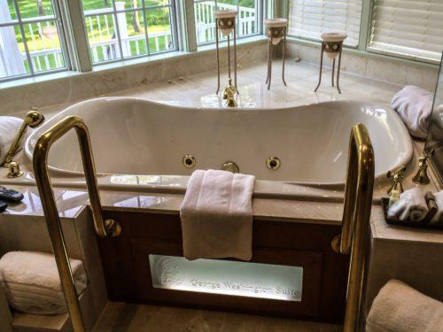 Bucks County- Inn at Bowman Hill- tub