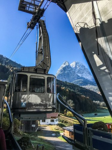 Garmisch Classic- Gondola ride