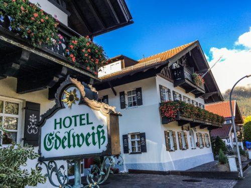 Garmisch- Hotel Edelweiss exterior