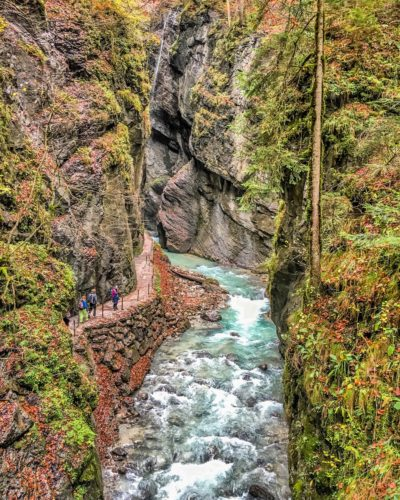 Partnach Gorge- view 2