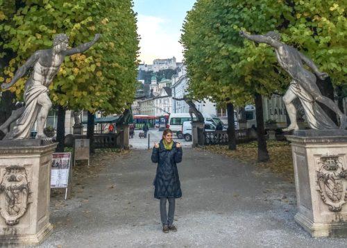 Salzburg- Me at the Mirabell Palace