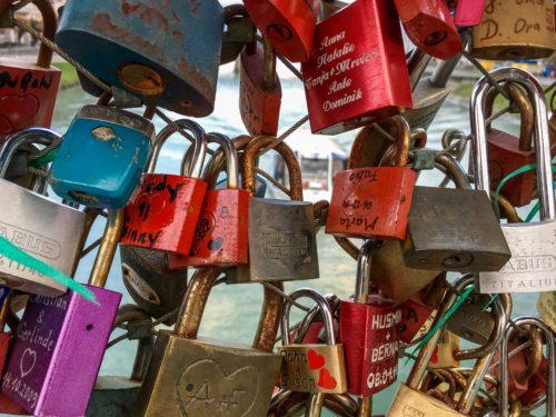 Salzburg-- lock bridge