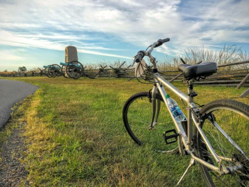 gettysburg-getaway-gettysbike-tours-bike-on-side-of-road