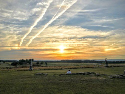 gettysburg-getaway-gettysbike-tours-sunset-begins