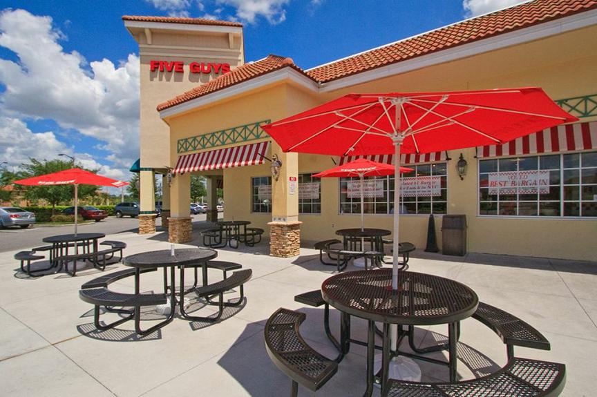 Five Guys Burger - Restaurant Contruction Buildout