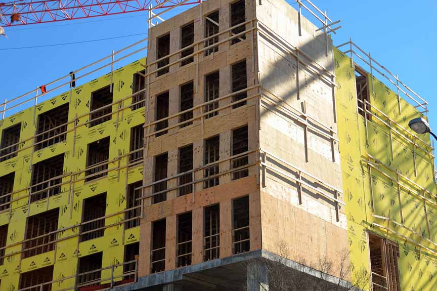 Commercial Construction - Residential Buildings