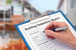 A building inspection report