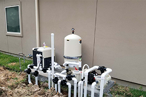 A water pump unit for a pool
