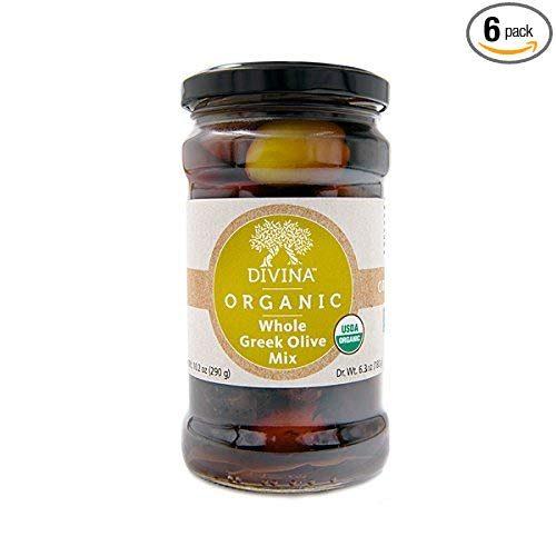 Divina Organic Mixed Whole Greek Olives