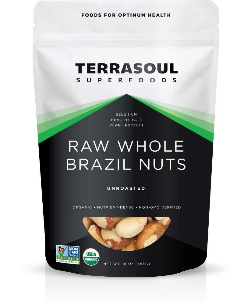 Terrasoul Superfoods Organic Raw Brazil Nuts