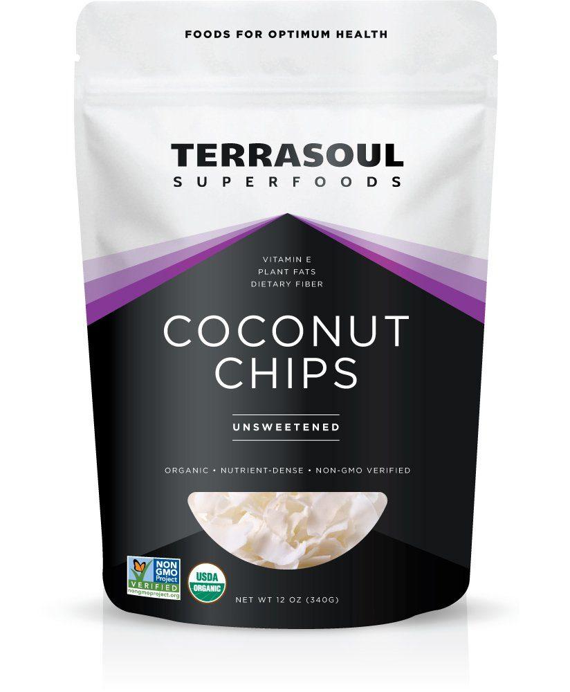 TerraSoul Raw Organic Coconut Chips