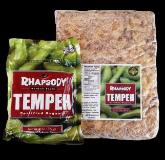 Rhapsody Organic (Grain-Free) Tempeh