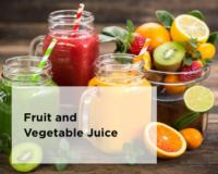 Omega Juicer - Make Fruit + Vegetable Juice