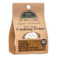 If You Care Unbleached Organic Cotton Cooking Twine
