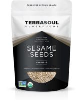 TerraSoul Organic Unhulled Sesame Seeds