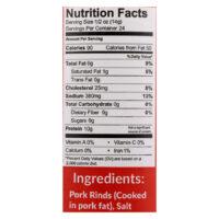 Pork Panko ingredients
