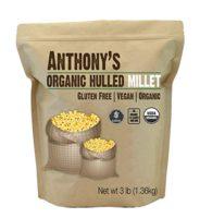 Anthonys' Organic Hulled Millet