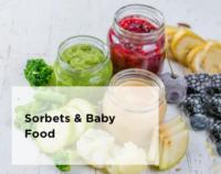 Omega Juicer - Make Sorbets + Baby Food