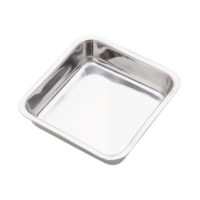 Norpro 7.5-Inch Stainless Steel Cake Pan