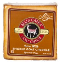 Sierra Nevada, Caprae Collection, Raw, Aged Goat Cheese - Smoked Cheddar