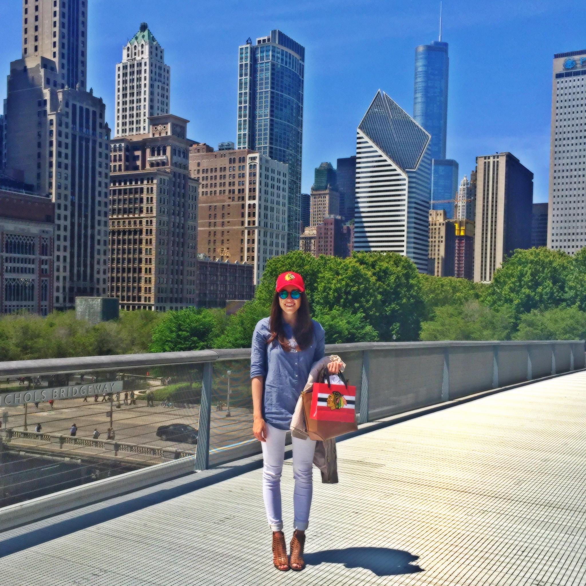Art Institute of Chicago Bridge