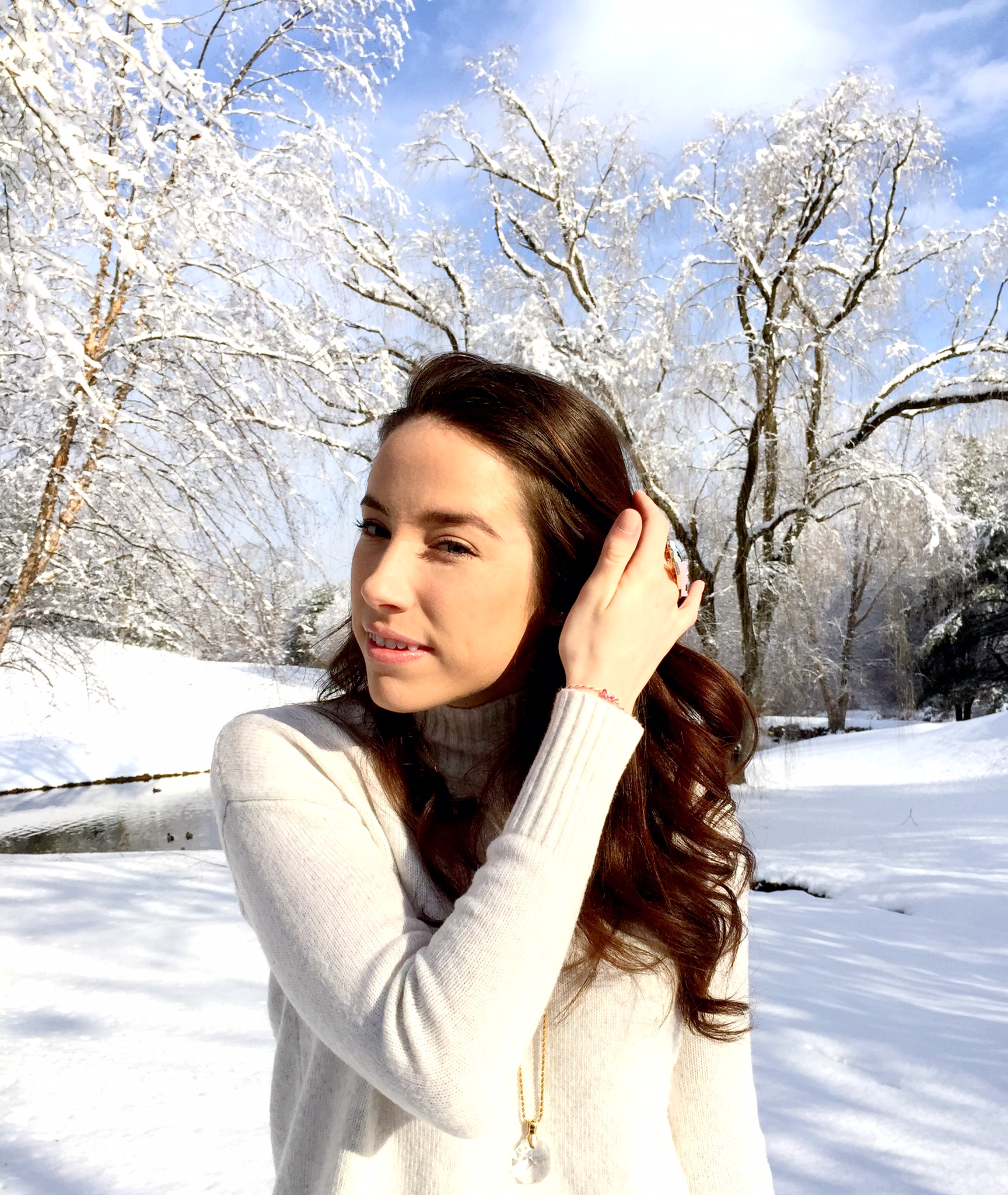 winter white   outfit idea