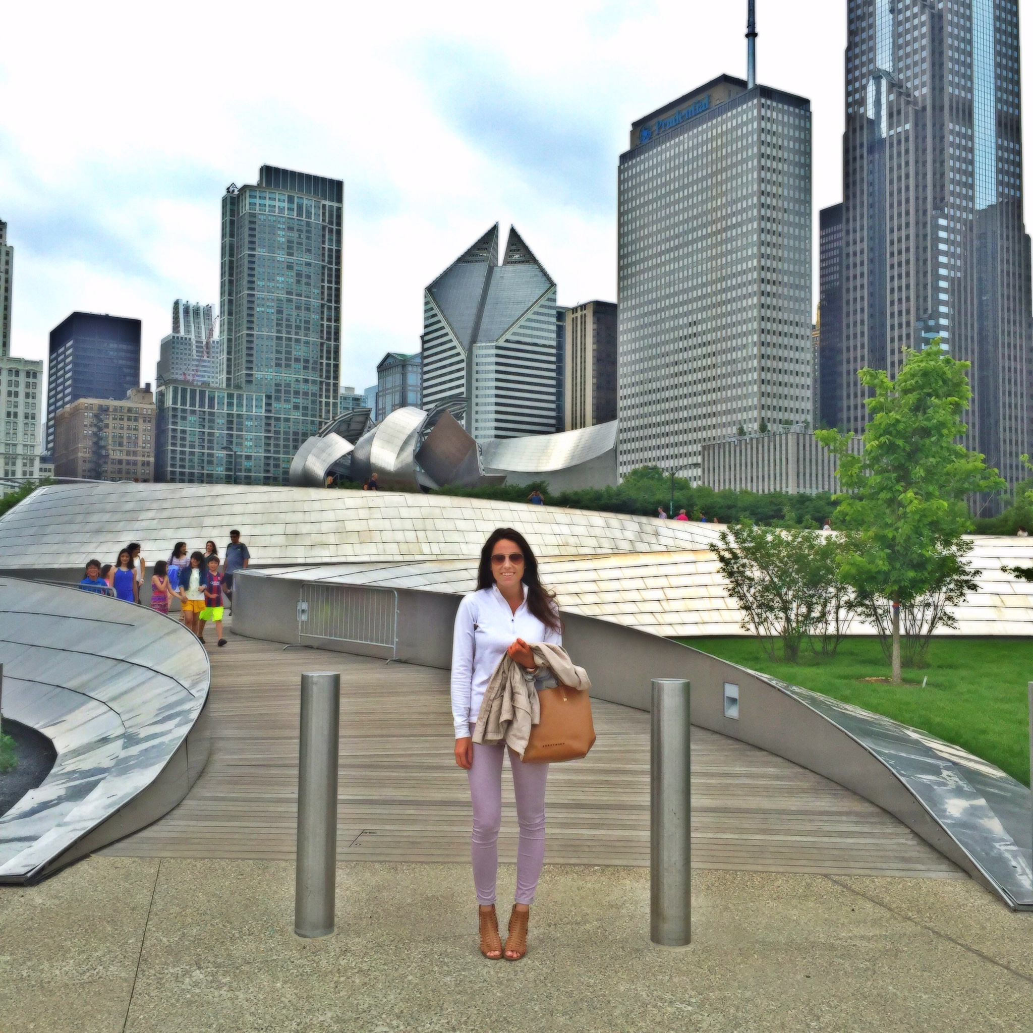 Maggie Daley Park in Chicago | Favorite City Skyline View