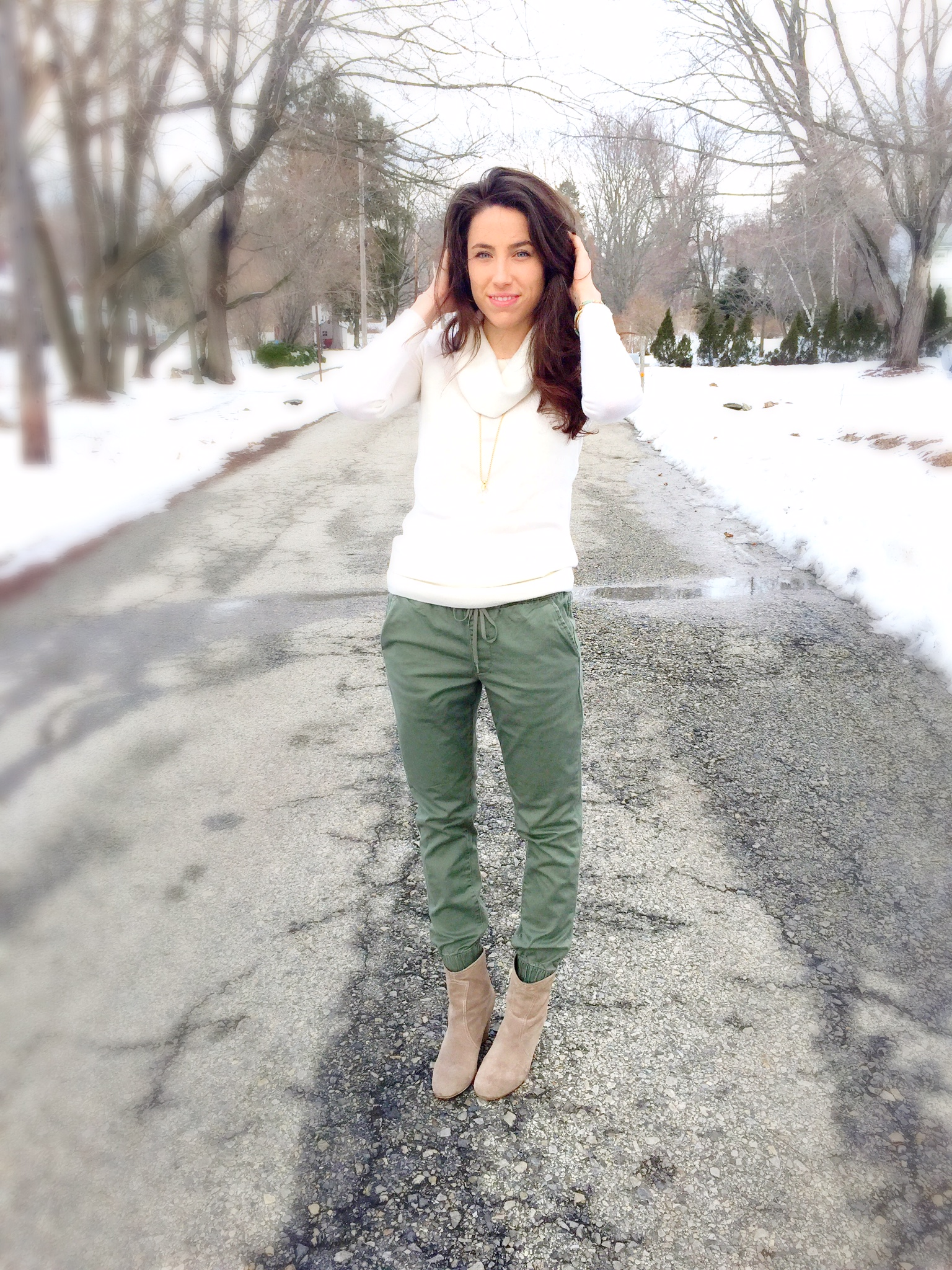 Spring Fashion Trends   Joggers   Outfit Ideas