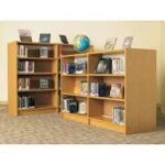 Book shelves for our library